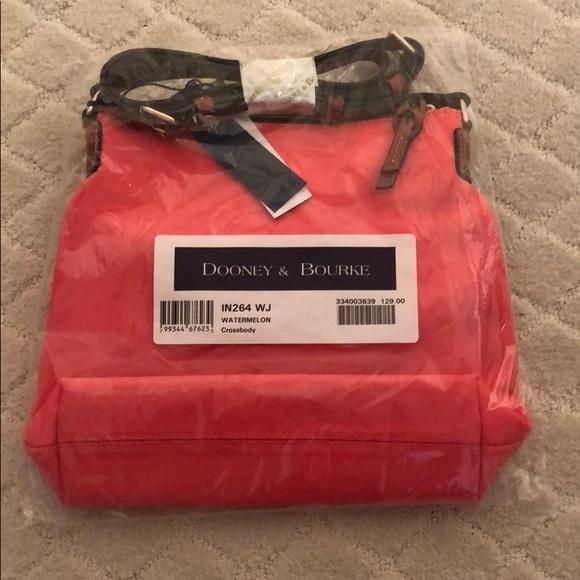 Dooney & Bourke Handbags - Dooney & Bourke watermelon crossbody